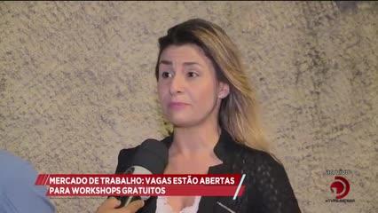 Mercado de Trabalho:Vagas estão abertas para workshops gratuitos