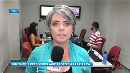 Estrangeiros suspeitos de agiotagem foram presos durante operação em Arapiraca