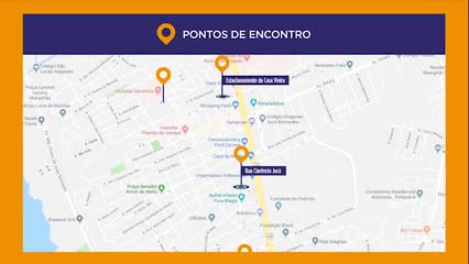 Plano de evacuação do Pinheiro: conheça pontos de encontro