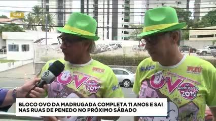 Bloco Ovo da Madrugada completa 11 anos e sai nas ruas de Penedo no próximo sábado