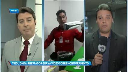 Funcionário gravou vídeo polêmico sobre instalação de câmeras da SMTT