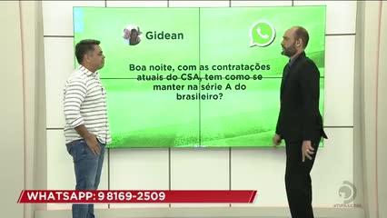 Futebol: Marlon Araújo responde perguntas dos telespectadores