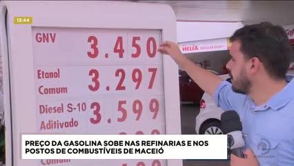 Motoristas se assustaram com o aumento no preço da gasolina