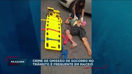 Crime de omissão de socorro no trânsito é frequente em Maceió