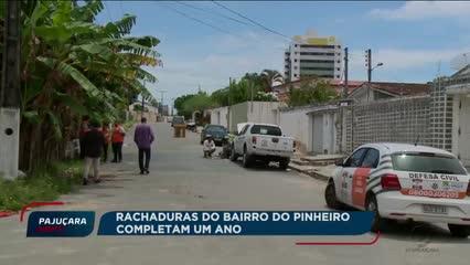Moradores do Pinheiro participam de simulado de evacuação