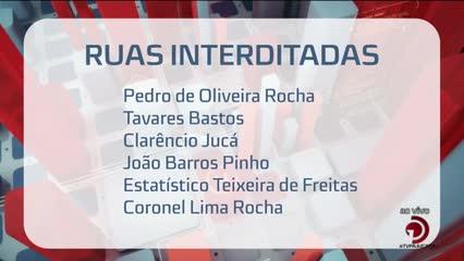 Simulado do Pinheiro vai interditar várias ruas
