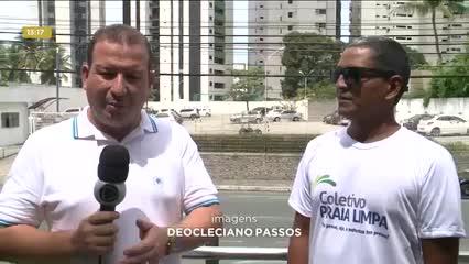Movimento Praia Limpa convoca voluntários para limpar o Pontal da Barra