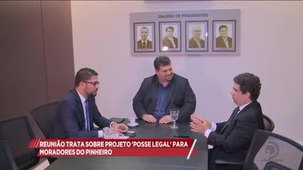 Reunião tratou sobre projeto 'Posse Legal' para moradores do Pinheiro