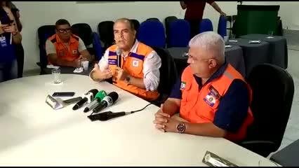 Defesa Civil apresenta balanço do simulado de evacuação no Pinheiro