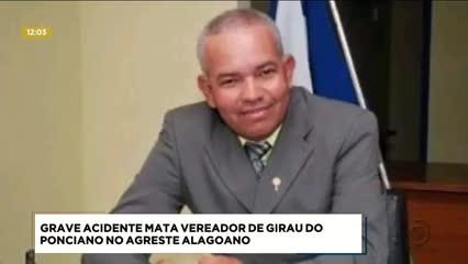 Vereador de Girau do Ponciano morreu em acidente de trânsito