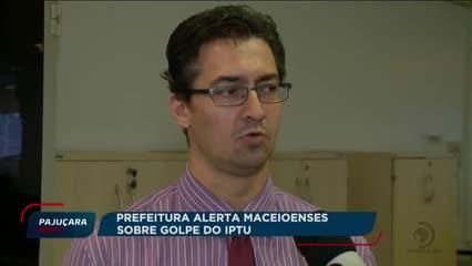 Prefeitura alerta maceioenses sobre golpe do IPTU