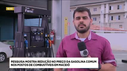 Pesquisa da ANP revela redução no preço da gasolina