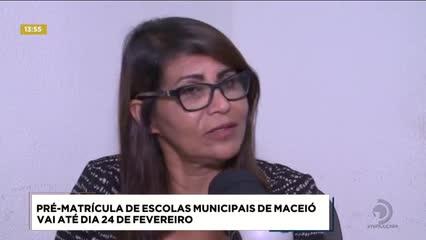 Pré-matrícula de escolas municipais de Maceió vai até dia 24 de fevereiro