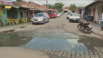 Alberto, Vem na Minha Rua: moradores reclamam de esgoto a céu aberto no Tabuleiro