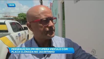 Polícia Militar recuperou veículo com placa clonada no Jacintinho