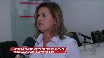 MPT reúne diversos setores e discute queda de arrecadação e emprego no Pinheiro