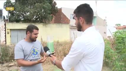 Projeto de estudantes incentiva a construção de pluviômetros artesanais