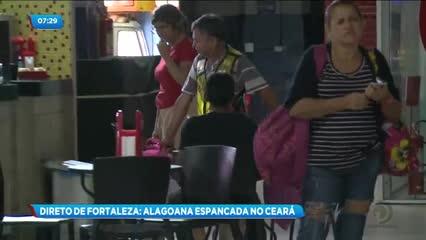 Alagoana foi espancada na cidade de Fortaleza, no Ceará