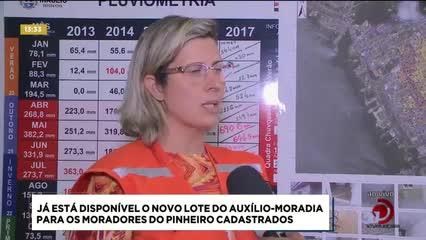 Já está disponível o novo lote do auxílio-moradia para moradores do Pinheiro cadastrados