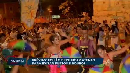 Polícia Militar alerta foliões sobre os cuidados com os pertences nas prévias de Maceió