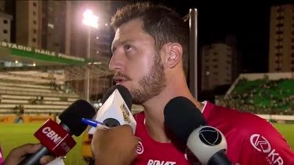 Futebol: CRB empata contra o Goiás