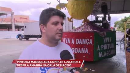 Bloco Pinto da Madrugada completa 20 anos e desfila amanhã na Orla de Maceió