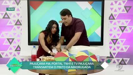 Pajuçara FM, Portal TNH1 e TV Pajuçara transmitem o Pinto da Madrugada-  Bloco 02