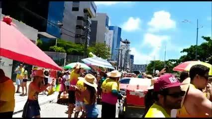 A folia tá rolando no Carnaval Pajuçara!