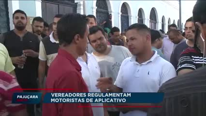 Vereadores regulamentam transporte por aplicativos