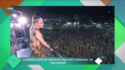 Ivete Sangalo faz retorno triunfal ao carnaval de Salvador  - Bloco 02
