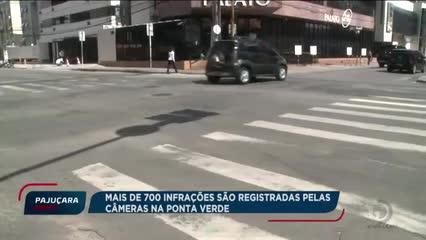 SMTT faz balanço de videomonitoramento implantado na Ponta Verde