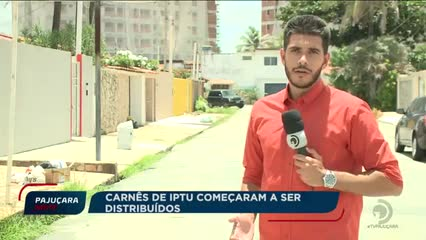 Carnês de IPTU começaram a ser distribuídos
