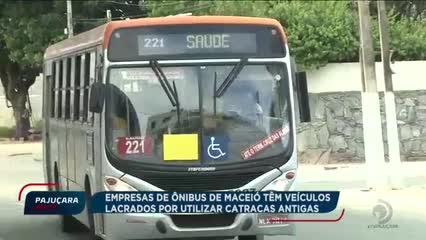 Empresas de ônibus de Maceió têm veículos lacrados por utilizar catracas antigas