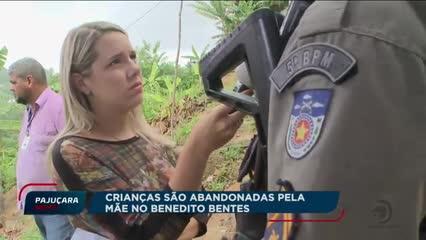 Crianças são abandonadas pela mãe no Benedito Bentes