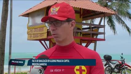 Falta de placas de sinalização nas praias de Alagoas preocupam turistas