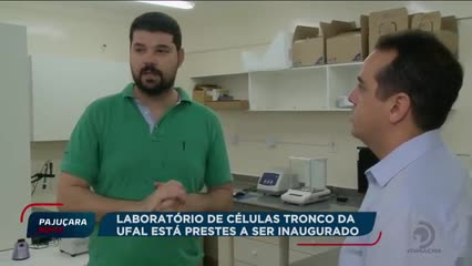 Laboratório de pesquisas de células troncos da UFAL já está quase pronto