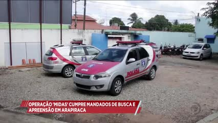 Operação ''Midas'' cumpriu mandados de busca e apreensão em Arapiraca