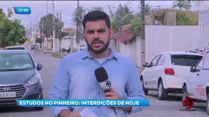 Ruas do Pinheiro serão interditadas para novos estudos nesta quinta