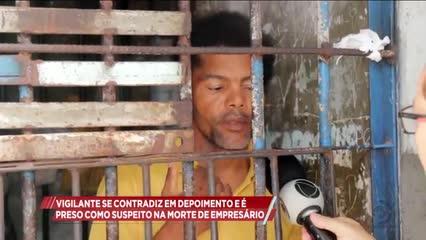 Vigilante é preso suspeito de matar empresário em Arapiraca