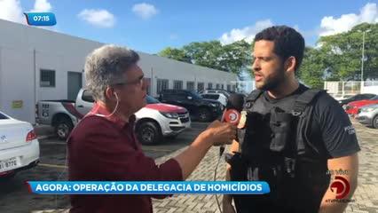 Operação cumpre mandados de prisão contra suspeitos de homicídios em Maceió