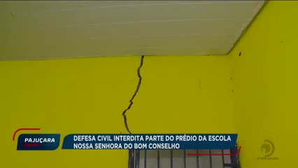 Escola estadual em Bebedouro corre o risco de desabamento