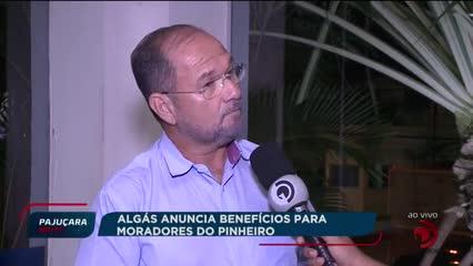Algás anuncia benefícios para moradores do Pinheiro
