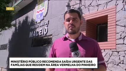 MP recomenda saída urgente das famílias que residem  na área vermelha do Pinheiro