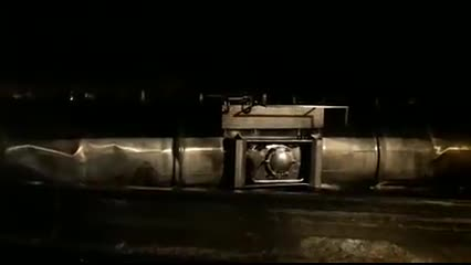 motorista morre após carretas com material inflamável tombarem na BR-101