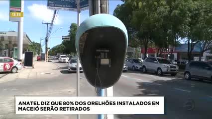 Anatel diz que 80% dos orelhões instalados em Maceió serão retirados