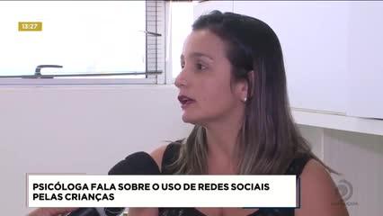 Psicóloga fala sobre o uso de redes sociais pelas crianças
