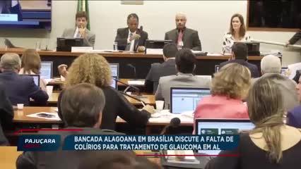Reunião em Brasília discute a falta de colírios no tratamento do glaucoma em AL