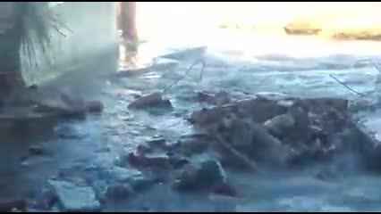Maré alta invade casas e barracas em Barra Nova 2