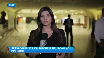 Audiência pública em Brasília debate a situação do bairro do Pinheiro