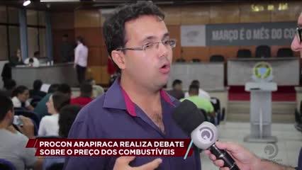 Procon Arapiraca realiza debate sobre o preço dos combustíveis
